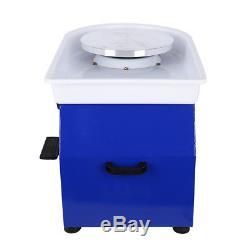 110V 12 Potters Wheel For Professional Ceramic Work Heavy Duty Machine Wheel US