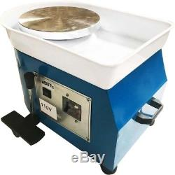 110V Potters Wheel For Professional Ceramic Work Heavy Duty Machine Wheel 12