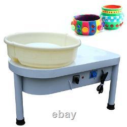 110V Potters Wheel For Professional Ceramic Work Heavy Duty Machine Wheel 250W