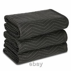 12 Heavy Duty Moving & Packing Blankets Professional 80 x 72 Professional