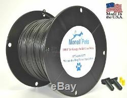 14 Gauge Solid Dog Fence Boundary Wire Heavy Duty Superior Pro Continuous Spool