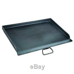 16 in x 24 inch Seasoned Steel Professional Griddle Heavy Duty Extra Large Plate