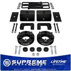 2007-2018 GMC Sierra 1500 3.5 + 3 Full Lift Kit withDiff Drop PRO BLACK