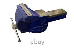 200mm Quality 8 Inch Fixed Bench Vice Cast Iron Anvil Engineers Engineering UK