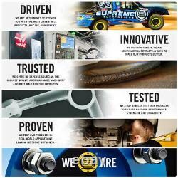 2 Front + 2 Rear Full Lift Kit + Axle Shims For 2005-2011 Dodge Dakota 4X2 RWD