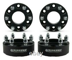 2 Wheel Spacers For 2015-2019 Ford F-150 Front + Rear Hub Centric Spacers Kit