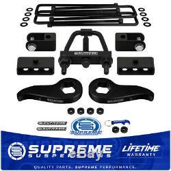 3 F + 1.5 R Lift Kit 11-19 Silverado/Sierra HD withTool + Shock Extender 4WD