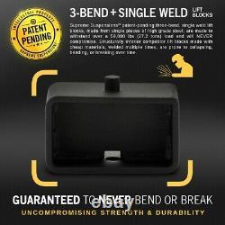 3 Full Lift For 2000-2013 Sierra Silverado 1500 2500 3500 HD Forged Steel Kit