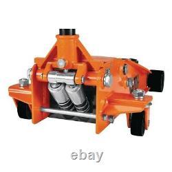 3 Ton Steel Heavy Duty Floor Jack Professional With Rapid Pump Lifts Orange New