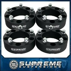 4x 2 Billet Wheel Spacers For 1976-1996 Ford F-150 Bronco 2WD 4WD Full Set PRO