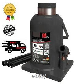 50 Ton Heavy Duty Professional Bottle Jack CAR VAN TRUCK BBJ1150