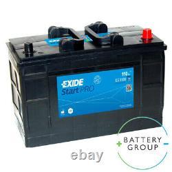 663 Battery EG1100 EXIDE START PRO Heavy Duty Commercial Truck Battery 12V 110AH
