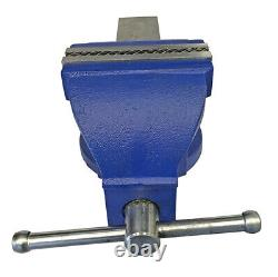6 Professional Engineers Bench Vice Fixed Base Heavy Duty Quality