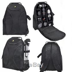 75 Pro Heavy Duty Tripod + Large Backpack + Remote For Nikon Canon Sony Pentax