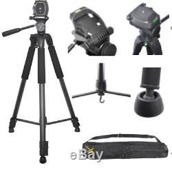 82 Pro Heavy Duty Tripod + Padded Backpack For Nikon Coolpix P900 Nikon P1000