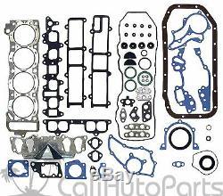 85-95 Toyota Pickup 2.4l 22re Sohc New Master Engine Rebuild Heavy Duty Kit