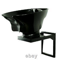 ABS Wall Mount Shampoo Bowl Backwash Station Salon Spa Beauty Furniture