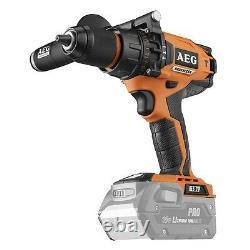 AEG 18V Pro Heavy Duty Brushless Motor Hammer Drill Skin Only