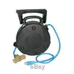 Alert Pro 8040T-PS 12/3 Retractable 40FT Extension Cord Reel with Circuit Breaker