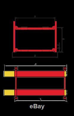 Amgo Pro-12-asx 4 Post Commercial Alignment Auto Lift 12,000 Lb. Cap