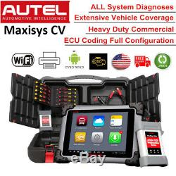 Autel Maxisys CV MS908CV Auto Diesel Truck Heavy Duty HD Diagnostic ScanPad Tool