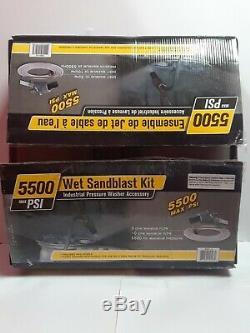 BE Professional 5000 PSI Heavy-Duty Sandblasting Kit