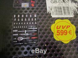 BRAND NEW PRO HEAVY DUTY TOOL BOX WITH TOOLS RRP 599 Euros