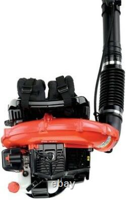 Backpack Leaf Blower Professional 215 MPH 510 CFM 58.2cc Gas Padded Back Pack