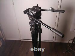Bogen Manfrotto Heavy duty Video tripod model 3193 with 316 head 3274 PROFESSIONAL