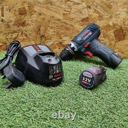 Bosch GSR 12V-15FC Professional Drill/Driver. 2xBattery & Charger FREE P&P'3360