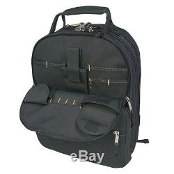 CLC 1132 Professional Tool 75 Pocket Heavy Duty Premium Pro Backpack Bag Carrier