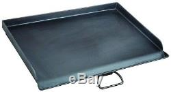 Camp Chef 18. X 24 Seasoned Steel Professional Griddle Extra-Large Heavy Duty