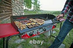 Camp Chef Professional Heavy Duty Steel Deluxe Griddle Built In Grease Drain NEW