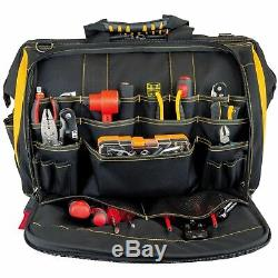 Cat 18 inch Pro Toolbag 56 Pockets Heavy Duty 1680D Polyester 240051