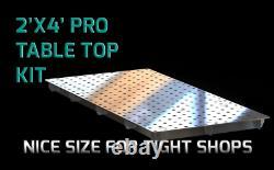 Certiflat 24x48 PRO Top Heavy Duty Welding Table WT2448
