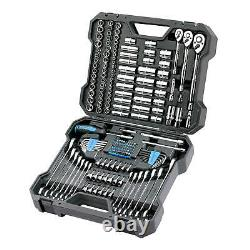 Channellock Professional Mechanic's Tool Set 200 Piece Heavy Duty With Case