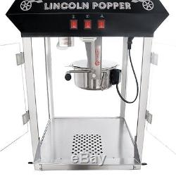 Commercial Popcorn Machine Professional Antique Popper Maker Heavy Duty Kettle