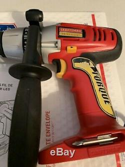 Craftsman C3 19.2 Volt Professional Heavy Duty Drill Driver withAuxiliary Handle