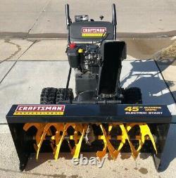 Craftsman Professional 45 Cut Snow Blower 13HP Electric Start