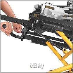 DEWALT Rolling Miter Saw Stand Adjustable Professional Fold Portable HEAVY DUTY