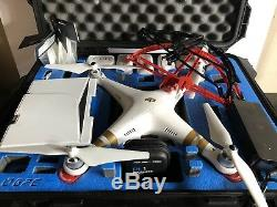 DJI Phantom 3 Professional Quadcopter With 4k Camera DJI Heavy Duty Case