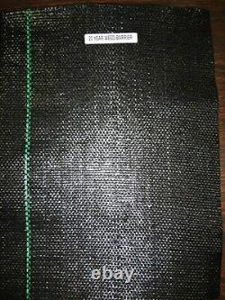 DeWitt Weed Barrier Professional Max Heavy Duty Woven Fabric 6 FT X 250 FT