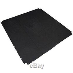 Defy Boxing Professional Ring Mat Heavy Duty Canvas Cover Mma Judo 16 Ft Black