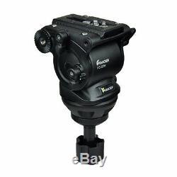 FC270A 74 Pro Heavy Duty Camcorder Fluid Pan Head Video DV Camera Tripod
