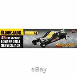 FLOOR JACK 2.5 TON Trolley Car Lifting Tool Low Profile Professional Heavy Duty