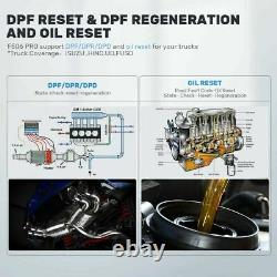 Fcar F506 Pro DPF Regen Oil Reset All System Heavy Duty Truck Diagnostic Scanner
