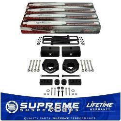Fits 93-98 Toyota IFS T100 3 Fr + 2 Rr Lift Kit with Shocks + Diff Drop 4WD PRO