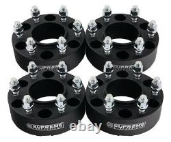 For 04-14 Ford F150 2WD 4WD 4x 1.5 Inch Hubcentric Wheel Spacer Kit with Lip