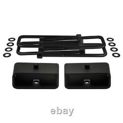 For 1986-1998 Toyota IFS Pickup T100 3 F+ 2 R Lift Kit + Diff Drop Spacers