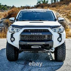 For Toyota 4Runner 14-20 Front Bumper Pro-Series Stubby Black Powder Coat Front
